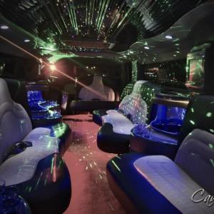 limusina hummer interior